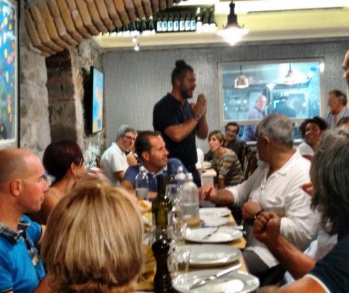 Cena di Beneficenza presso La Sciamadda dei Vinaccieri Ballerini a Sestri Levante 02/07/2015