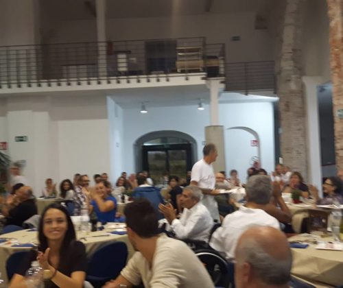 Cena di beneficenza di fine estate 16/09/16