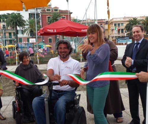 Inaugurazione Spiaggia Attrezzata per Disabili Gravi – Progetto Noihandiamo al Mare – 15 Giugno 2014