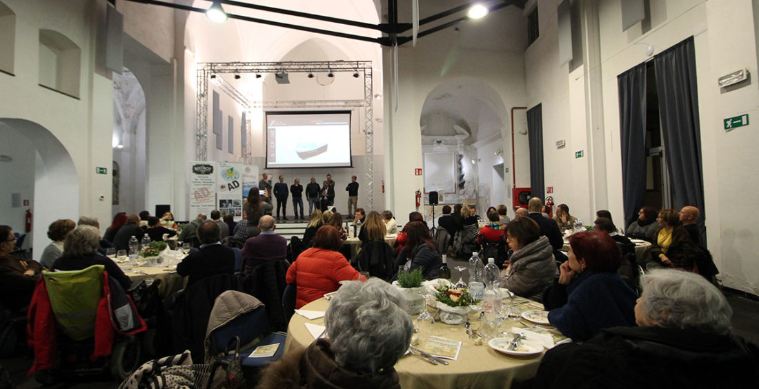 Cena di Beneficenza NoiHandiamo – 23 Novembre 2018